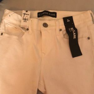 White Express Flare Jeans